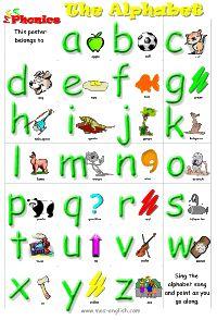 flash cards alphabet