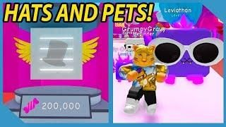 HUGE UPDATE! NEW HAT CRATES AND JELLY PETS IN ROBLOX BUBBLE