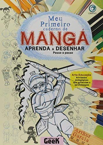 Meu Primeiro Caderno De Manga Aprenda A Desenhar Passo A Https