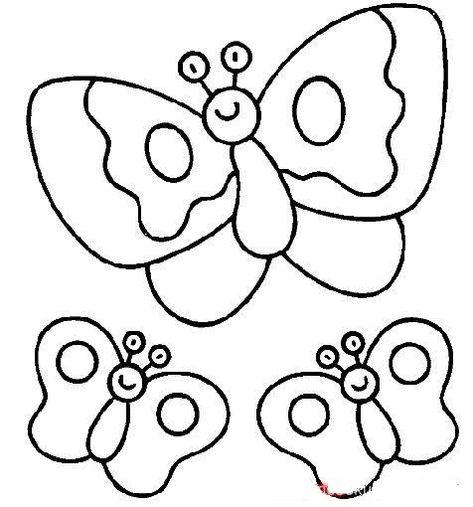 Kelebek Kaliplari Boyama Kelebekler Boyama Sayfalari Boyama