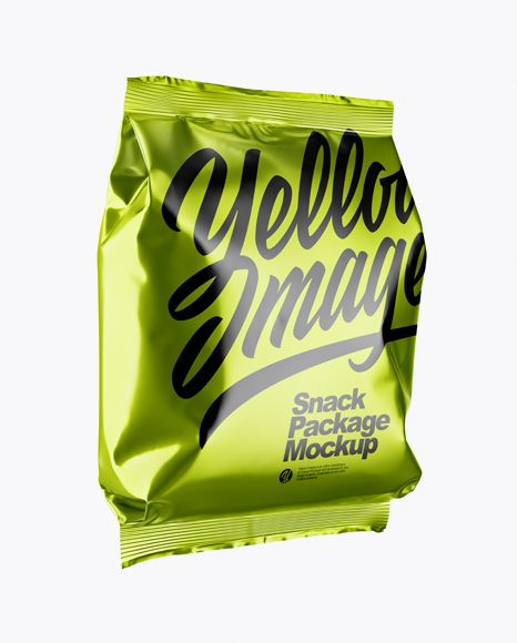 Download Metallic Snack Package Mockup Half Side View In Bag Sack Mockups On Yellow Images Object Mockups Mockup Free Psd Mockup Mockup Free Download