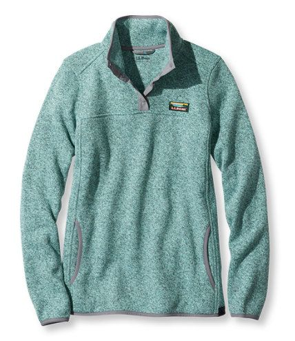 Women's Bean's Sweater Fleece Pullover | Free Shipping at L.L.Bean ...