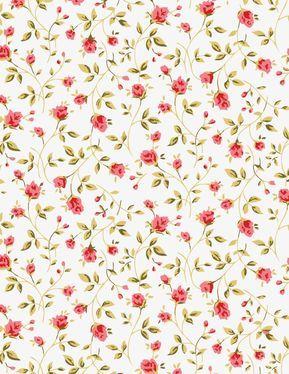 Rosa Patron Flowers Background Free Download Classic Noble Png Y Vector Flores Pequenas Flor Modelo Patron De Fondo