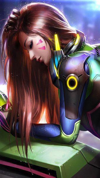 D Va Overwatch 4k Click Image For Hd Mobile And Desktop Wallpaper 3840x2160 1920x1080 2160x3840 Overwatch Wallpapers Overwatch Fan Art Overwatch Drawings