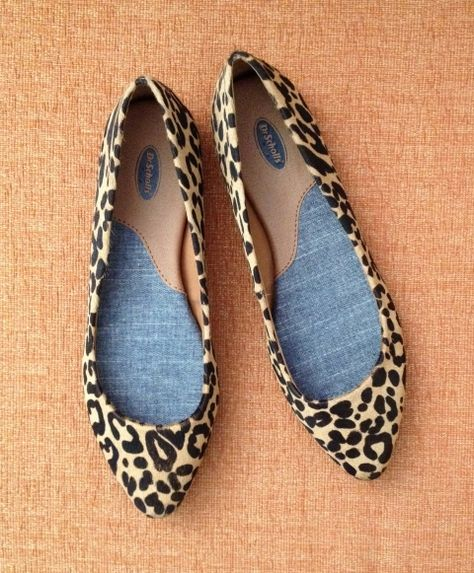b0359dfff02f Dr Scholl s Leopard Print Flats. Available at DSW
