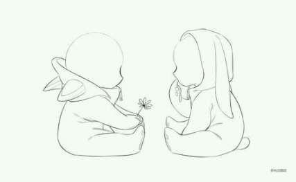 Baby Drawing Reference Cartoon 22 Ideas Baby Drawing Drawings Chibi Drawings
