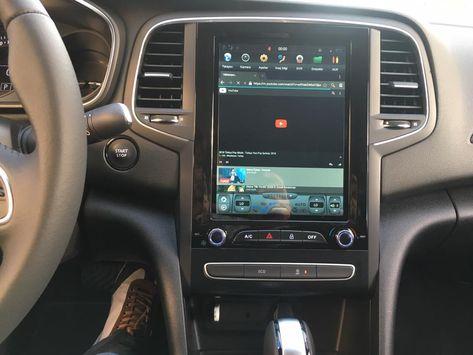 Renault Fluence Megane 4 Tesla Style Vertical Screen Car Radio