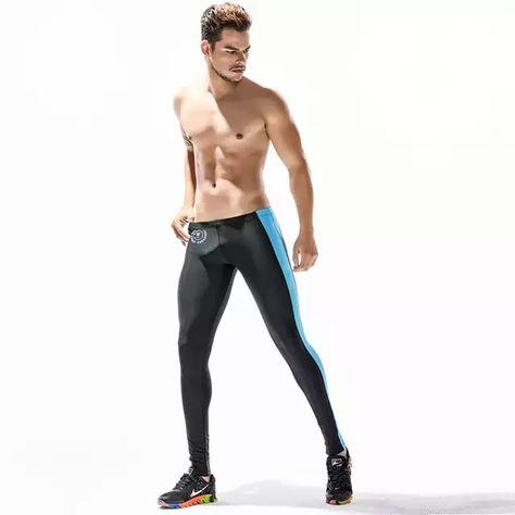 New Leggings de compresi/ón 011 Base Layer Negro para Hombre Pantalones de Correr