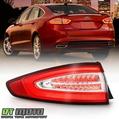 2013 2016 Ford Fusion Energi Titanium Led Tail Light Brake Lamp Lh