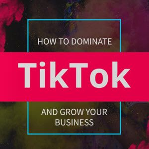 How To Dominate Tiktok And Grow Your Business Social Media Jobs Growing Your Business Social Media Apps