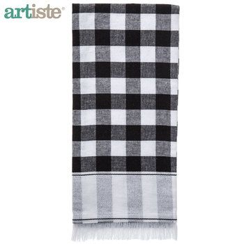 Black White Buffalo Check Kitchen Towel White Kitchen Towels Black White Kitchen Decor Kitchen Towels