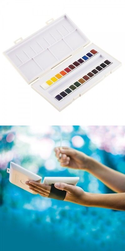 Watercolor Paint 28113 Sennelier La Petite Aquarelle Half Pan