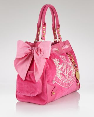 Juicy Couture Tote Scotty Embroidered Daydreamer