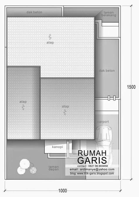 Teras Rumah Dak Cor 166 best proposed house plan images house plans house