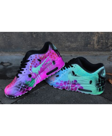 huge selection of af264 c547c Cheap Nike Air Max 90 Candy Drip Womens Trainers In Pink Green