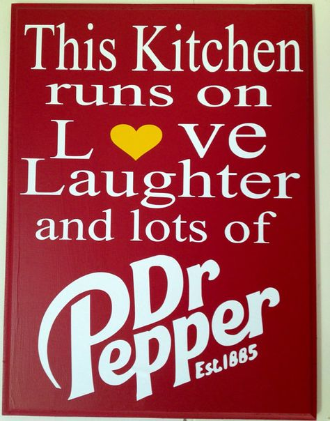 Lots of Dr. Pepper Sign by TheRentHouse on Etsy, $15.00