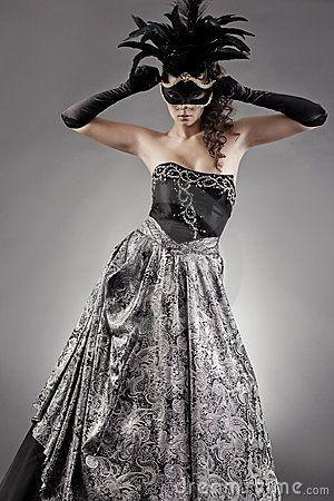 Circus Black Masquerade Mask Fashion Silver Evening Beautyblog Makeupoftheday Makeupbyme Makeuplife Makeuptutor Ballkleider Gunstig Kleider Ballkleid