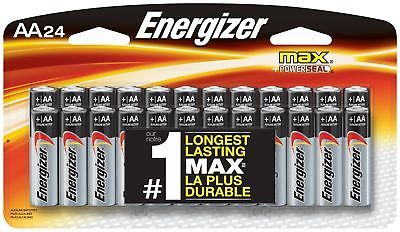 Energizer Aa Batteries Double A Battery Max Alkaline 24 Count E91bp 24 Shipping Free Item Location Usa Energizer Camping Gear Storage Family Tent Camping