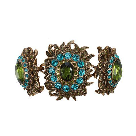 Sunburst Crystal Bracelet  | OSCAR DE LA RENTA