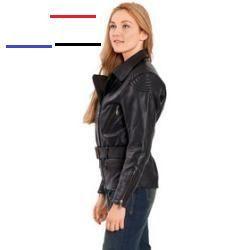 Reduzierte Biker Lederjacken für Damen   Jackets for women
