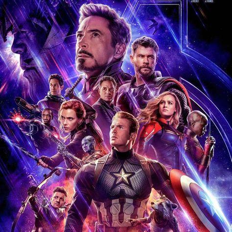 Avengers . Endgame . PDF . Counted cross stitch pattern . 2 versions . Digital design . Instant download . Marvel