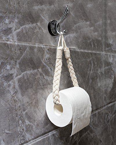 Idee Diy Porte Papier Toilette Tresse Curtain Holder Toilet Roll Handmade Home