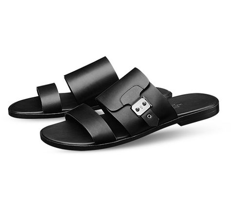 Shoes for men, discover the latest collections of men sandals, men loafers or moccasins and also choose from men shoes accessories on Hermès online store Nike Slippers, Mens Slippers, Hermes Slippers, Italian Leather Shoes, Leather Men, Leather Slippers For Men, Cowboy Boots Women, Cowgirl Boots, Western Boots