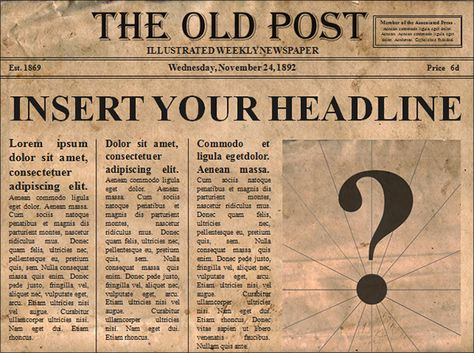 Newspaper Template 9 Download Free Documents In Pdf Ppt Word Newspaper Article Template Newspaper Template Newspaper Template Word