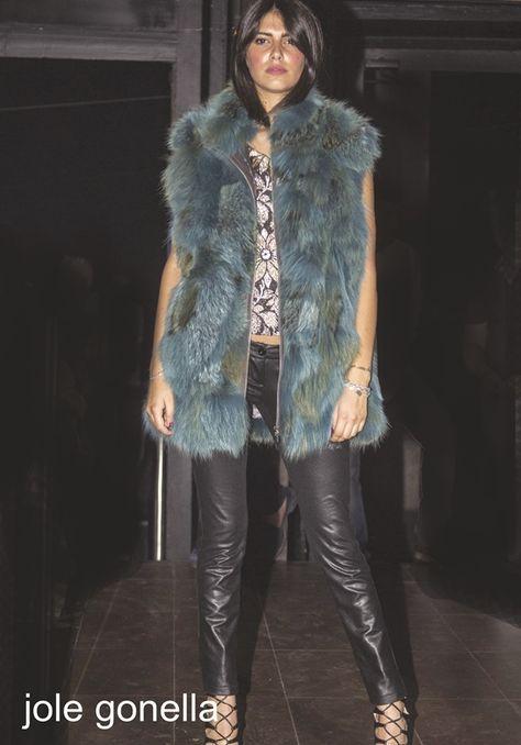 new product 046d3 ac93a gilet smanicato pelliccia volpe - fox fur #jolegonella ...
