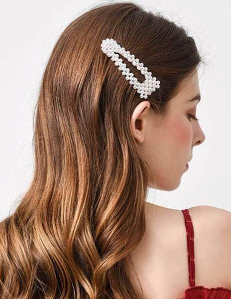 12PCS//Set Cute Pearl Hair Clip Barrettes For Women Handmade Hairpins Accessories