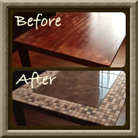 Pin By Basement Brands On Furniture Other Fun Stuff Diy Table Tile Tables Tiled Coffee Table