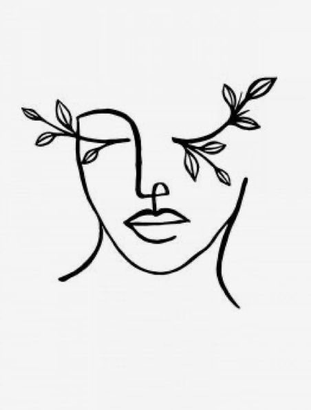 Pin By Cnp On Art And Artists Abstract Face Art Art Drawings Simple Line Art Drawings