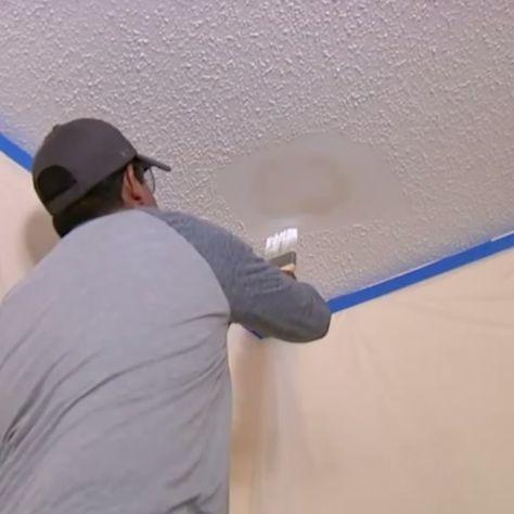 Wall Ceiling Textures Home Repair Diy Home Repair Diy Ceiling