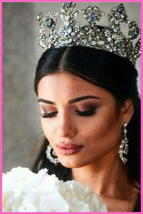 Worthy Wedding Crowns Inspiration 29 wedding and engagement hairstyles 2019 wedding and engagement hairstyles Visit the post for more. wedding and engagement hairstyles 2019