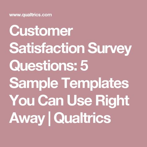 Six Tips for Creating an Effective Online Customer Survey Base - free customer satisfaction survey template