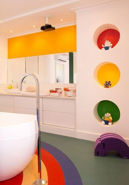 Bunte Badezimmer Neu Dekoration Stile Badezimmer Kinder Badezimmer Waschraumgestaltung