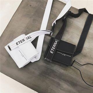Fashion Women Cute Simple Letters Ribbons Handbags Shoulder Bags 2019 New Hot Female Hook&loop Casual Simple Messenger Bags
