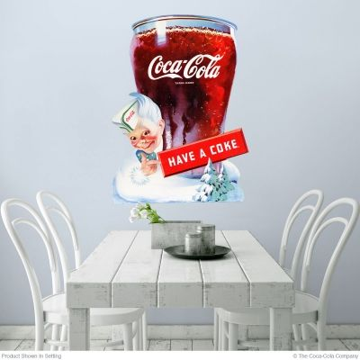 Coca-Cola Have a Coke Bell Glass Sprite Boy Wall Decal in