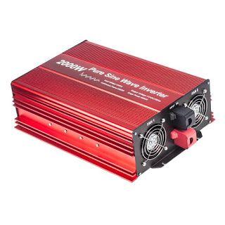 Features Benefits Fit4less 2000w Pure Sine Wave Inverter 12v To 120v Ac With 2 Ac Outlets Ip54 Etl Approved Sockets Dc5v 2 Sine Wave Power Source Sockets