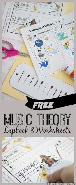 FREE Music Theory Worksheets for Kids