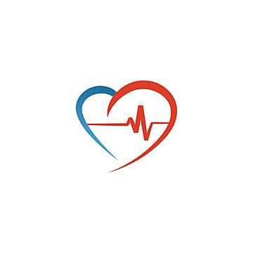Elegant Heart And Ekg Outline Logo Design Template Vector Heart Icons Logo Icons Template Icons Png And Vector With Transparent Background For Free Download Logo Design Heart Icons Logo Design Template