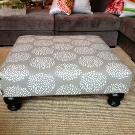 Ottoman from West Elm