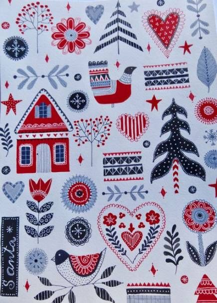 Embroidery Christmas Scandinavian 64 Ideas Scandinavian Christmas Scandinavian Quilts Christmas Embroidery
