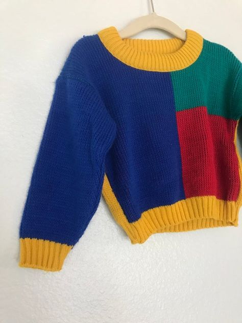 Boys Sweaters, Cute Sweaters, Vintage Sweaters, Sweater Outfits, Cute Outfits, Beautiful Outfits, Summer Outfits, Pullover Outfit, Origami Fashion
