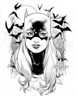 Batgirl Dc Comics Producao De Arte Coisas Para Desenhar
