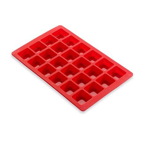 Lekue Silicone Mini Brownie Pan Red Mini Brownies Lekue