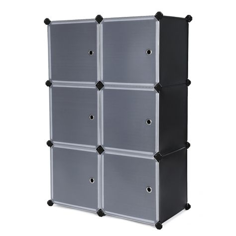 Songmics Diy Cube Storage Organizer Cabinet Bookcase With Door Ulpc23h You Can Get Additional Details At The Image Link Cube Storage Diy Cube Storage Storage
