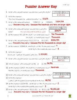 4th Grade NBT Worksheets & Assessments - Entire 4.NBT ...