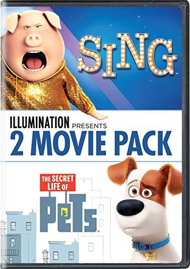 Sing The Secret Life Of Pets 2 Movie Pack Only 10 99 Reg 23 Only 5 50 Per Movie Save 52 On This Sing Th With Images Secret Life Of Pets 2 Movie Secret Life