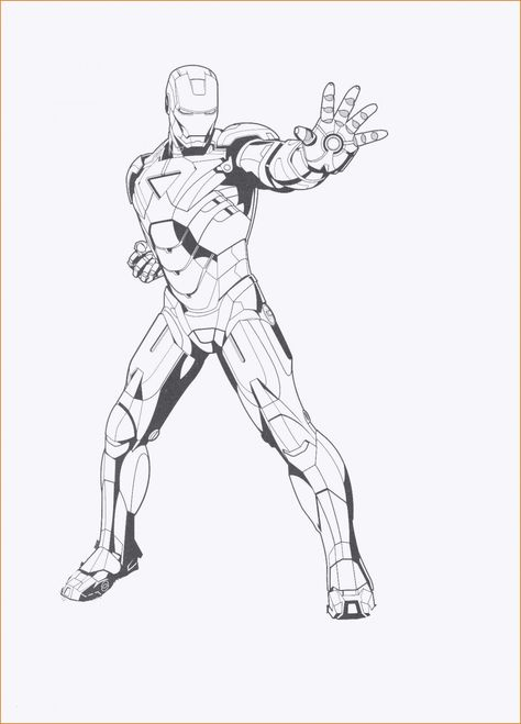 iron man 3 coloring pages inspirational free printable